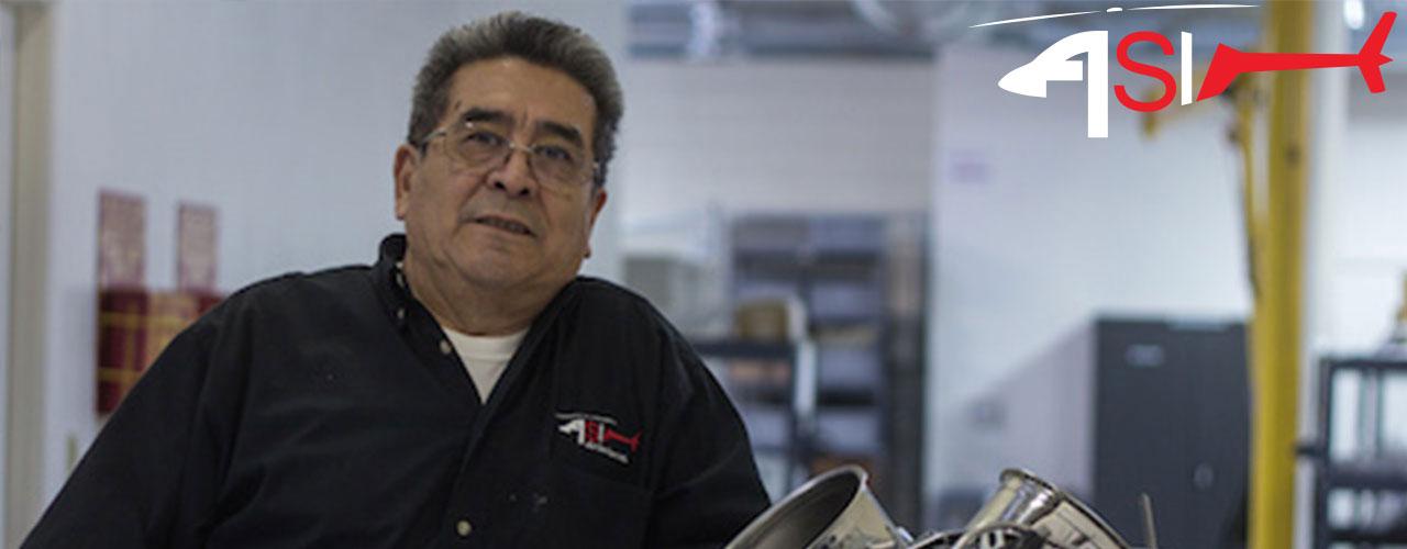 Eligio Garcia ASI Lead Bell Component Technician