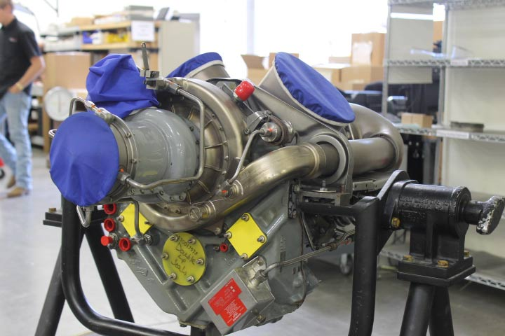 Rolls-Royce M250-C20B Turbine, Part Number 6887190
